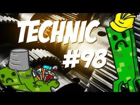 Tekkit/Technic - Episode 98 - Advanced Pipes and Automatic Crafting
