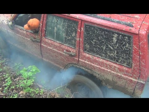 CRAZY RED XJ BEATDOWN, JUST HOW TOUGH IS A XJ? @ MUD MADNESS MOTORSPORTS