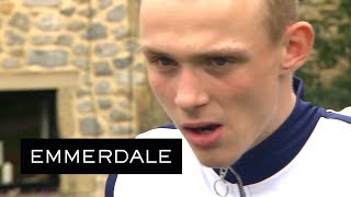 Emmerdale - Josh Attacks His Old Partner in Crime