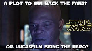 Lucasfilm to the rescue?!?  Star Wars Theory gets his fan film back