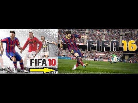 iOS/Android FIFA HISTORY: Fifa 10 - Fifa 16