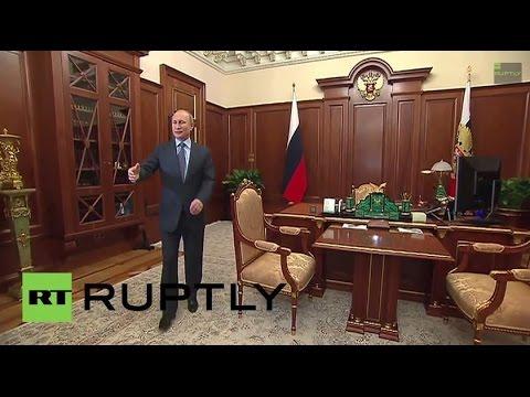 Russia: Putin talks affordable housing, energy with Republic of Khakassia head