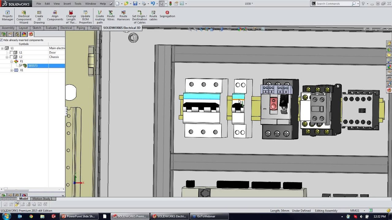 solidworks electrical collaboration youtube Single Line Schematic