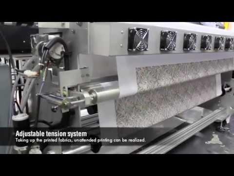 Metraj Dijital Kumaş Baskı Makinesi - POWERJET XL 7