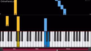 Guilty Crown Op My Dearest Opening Theme Easy Piano Tutorial How To Play ギルティクラウン