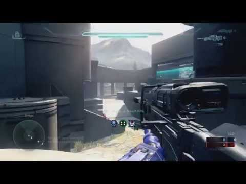 Halo 5 Beta Clip - Clean Sniper Overkill (Quickscopes for Triple and Overkill)