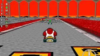 New Super Mario Kart - 200cc Flower Cup (Unlocking Larry)