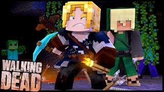 EXPLORANDO MINA ABANDONADA!! - Walking Dead #11: Minecraft