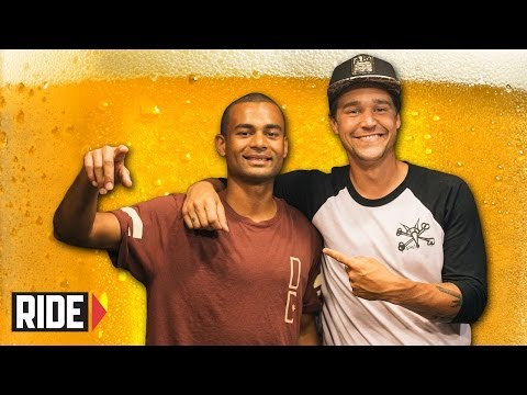 Jordan Hoffart & Tommy Fynn: Nyjah Parties! Forrest! Quiznos & Porn! Weekend Buzz Ep. 87 Pt. 1 video