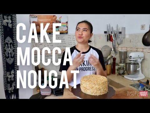 RESEP CAKE MOCCA NOUGAT #81