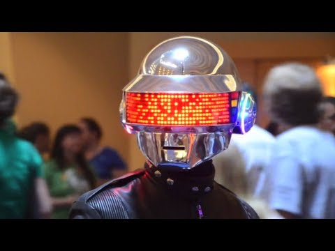 Daft Punk: Thomas helmet in 4 months!