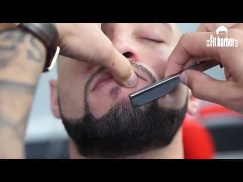 A trim haircut
