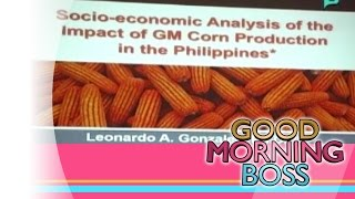 [Good Morning Boss] ETC: Science International  Forum on Crops in the Philippines [03|31|15]