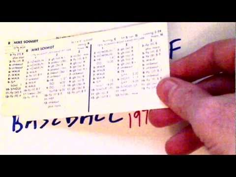 My Golden Age of Strat-O-Matic Baseball 1977-1984 Part 1 of 8
