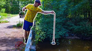 We Went Magnet Fishing Back At the Old GRENADE Bridge! This is what we FOUND!