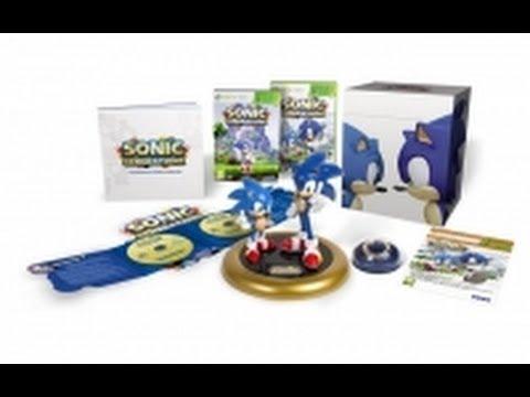 Sonic Generations Коллекционное Издание