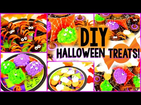 DIY Halloween Treats! Easy &Yummy!