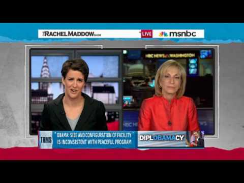 Obama on Iran Rachel Maddow