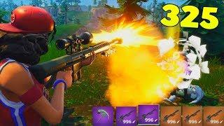 New Heavy Sniper Insane Clips Fortnite Sniping God