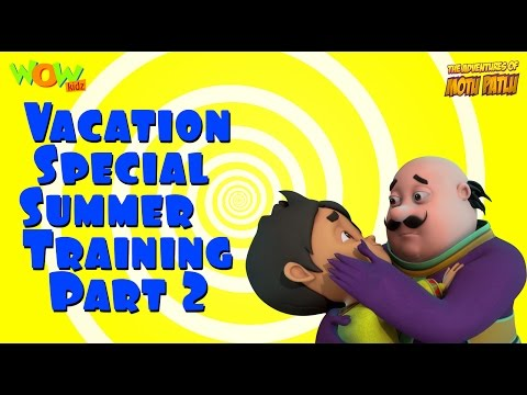 Motu Patlu Vacation Special -Summer Training part 02 - As seen on Nickelodeon thumbnail