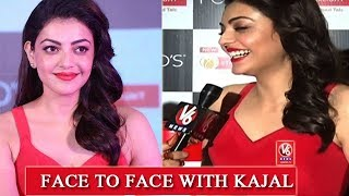 Face To Face With Kajal Agarwal | Ponds Starlight Launching Event | Hyderabad