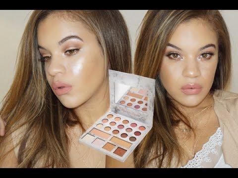 Glowy Summer Makeup w Carli Bybel Deluxe Palette  Allis Peguero