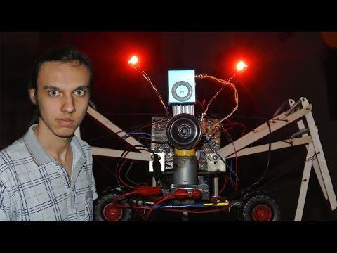 ТЕРМИНАТОР - НАЧАЛО. Самодельный робот из подручного материала. #ГОДНЫЙКОНТЕНТЧЕЛЛЕНДЖ