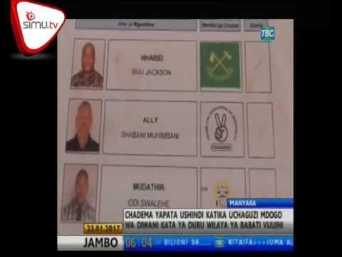 Chadema Yachukua Udiwani Wilayani Babati