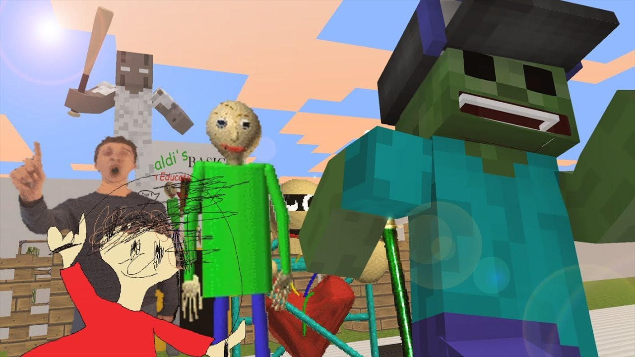 Monster School Baldi's Basic vs Granny Minecraft Animation