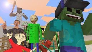 Monster School Baldi's Basic vs Granny Minecraft Animation