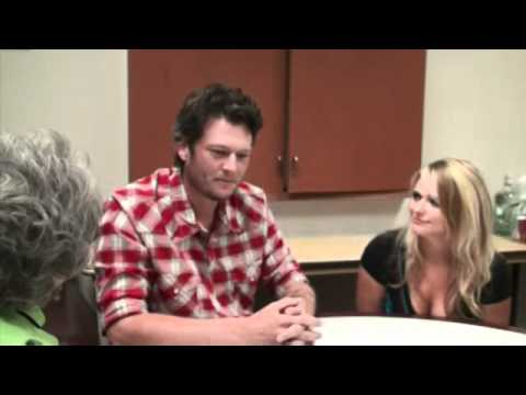 Euneeda Biscuit interviews Blake Shelton & Miranda Lambert Part 1 of 2