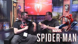 Spider-man (2018) - AngryJoe Interview E3 2018