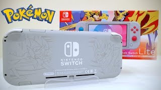 HANDS ON Nintendo Switch Lite Zacian and Zamazenta Edition [UNBOXING]