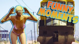 GTA V Funny moments - GTA 5 Fail moments