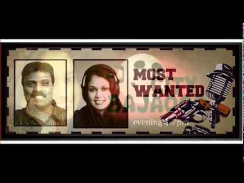 Rewind prgm (MOST WANTED) on Bahrain RADIO VOICE 104.2-  (20th June 2011) SIBY JOSEPH