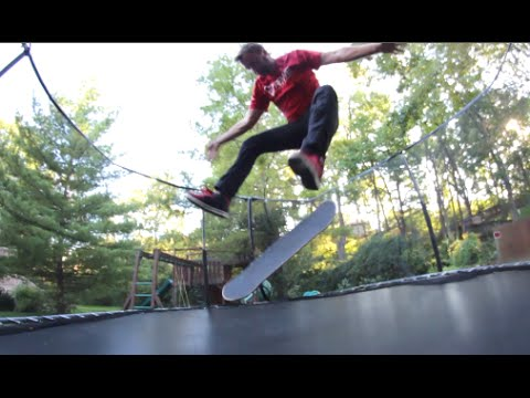 How Skateboarders Use A Trampoline