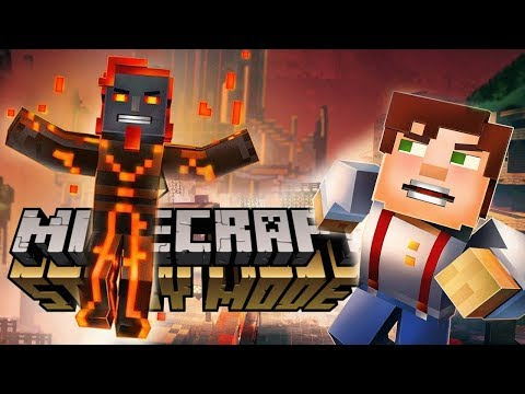 ЗЛОЙ АДМИН ЗАХВАТИЛ ГОРОД! - Minecraft: Story Mode Season 2 #12