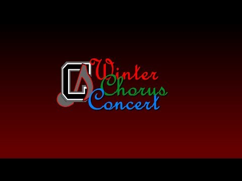 Chickahominy Middle School Winter Chorus Concert 2013 - Preview