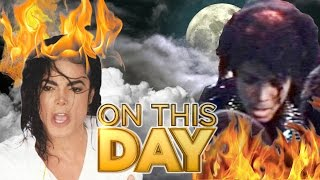 MICHAEL JACKSON SET ON FIRE - ON THIS DAY – Birth Of The iPad