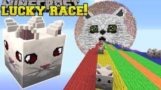 Minecraft: SAVAGE CLOUD LUCKY BLOCK RACE - Lucky Block Mod - Modded Mini-Game