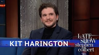Stephen Guesses 'GoT' Endings At Kit Harington