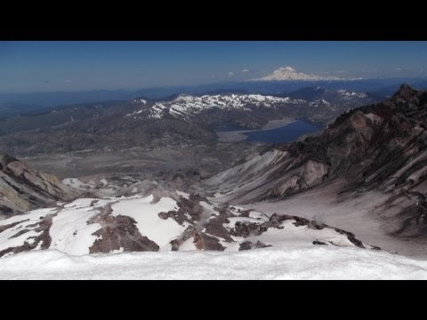 Mount St. Helens Winter Route Climb