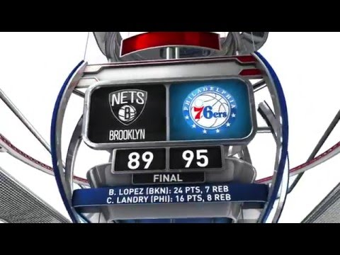 Brooklyn Nets vs Philadelphia 76ers - March 11, 2016