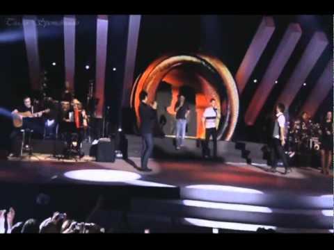 Guilherme e Santiago e Jorge e Mateus - Vou Até o Fim (Videoclipe Oficial - Sertanejo 2012)