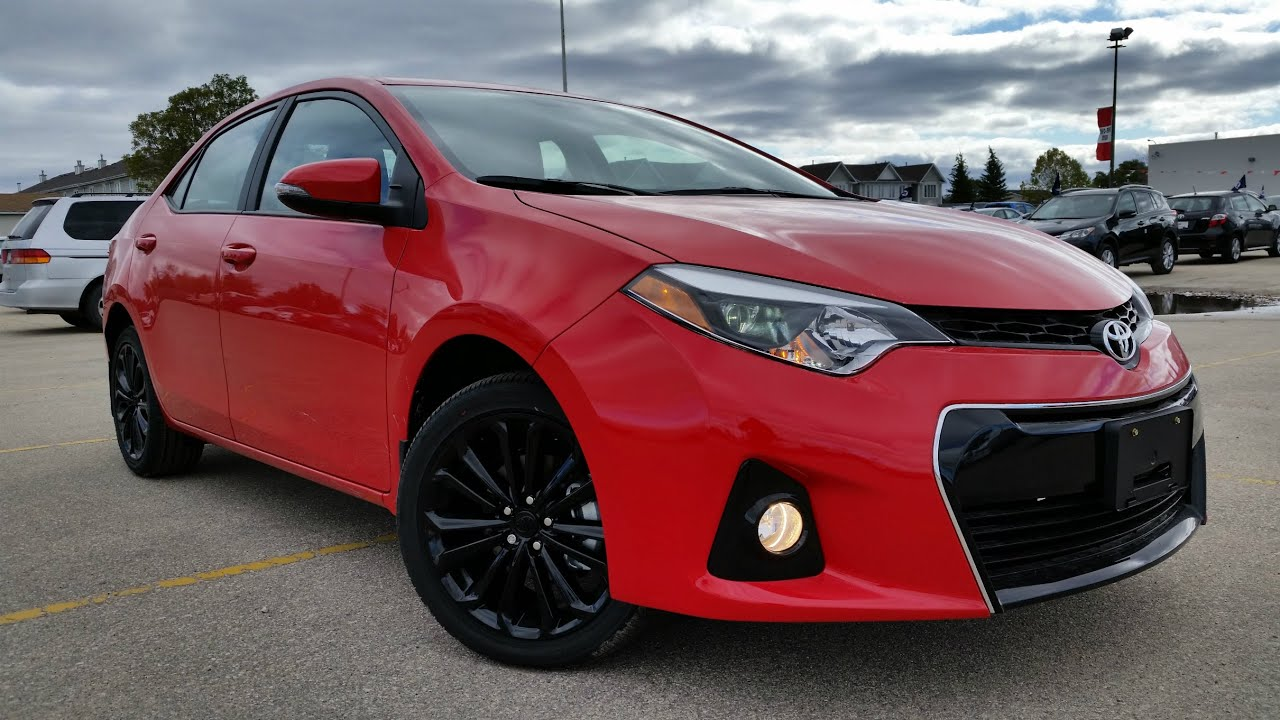 2015 Toyota Corolla 50th Anniversary Edition Review - YouTube