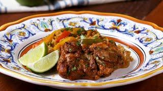 Fajita Chicken And Rice Dinner • Tasty