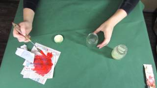 How to make color gutta with oil paint. DIY color gutta for silk painting or batik