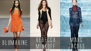 Thrifting Runway Trends: Lace