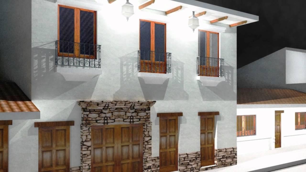 Casas coloniales youtube - Fotos de fachadas de casas rusticas ...