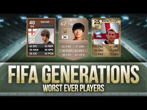 FIFA Generations | Worst Ever Players! w/ 25 RATED INFORM!